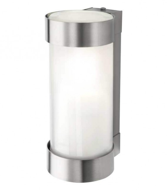 Outdoor wall light MIDUX, stainless steel