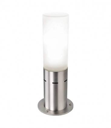 Socle-lamp IPLIO, stainless steel
