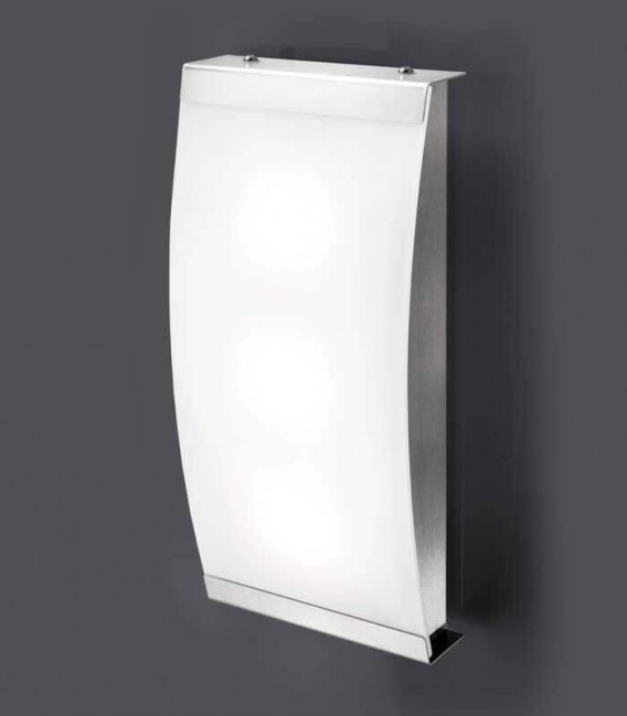 LED outdoor wall light SELLIX, stainless steel, 3000 K