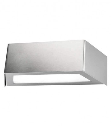 LED outdoor wall light VIDUX, stainless steel, 3000 K