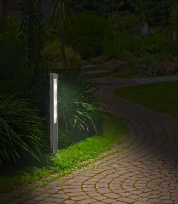 Anthracite LED path lighting LIDUX