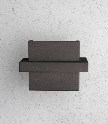 LED outdoor wall light DIA, graphite