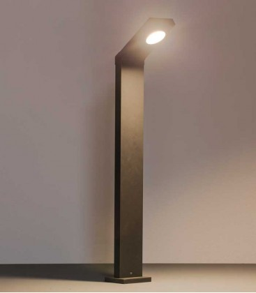 Graphite LED path lighting NURIA-STAND