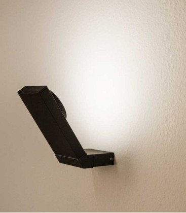 LED outdoor wall light NURIA, graphite