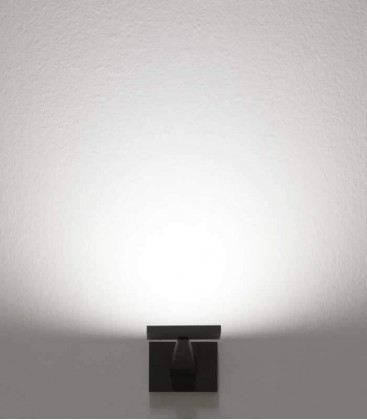 Graphite LED outdoor wall light FEDRA