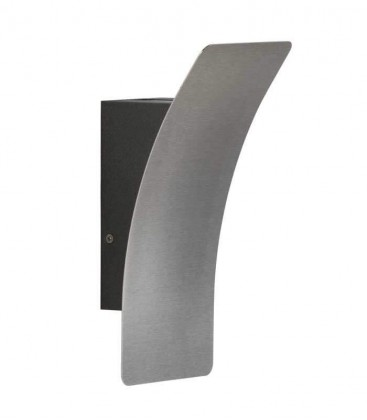 LED outdoor wall light YAIRA, graphite