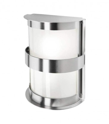 Outdoor wall light INTESSA, stainless steel