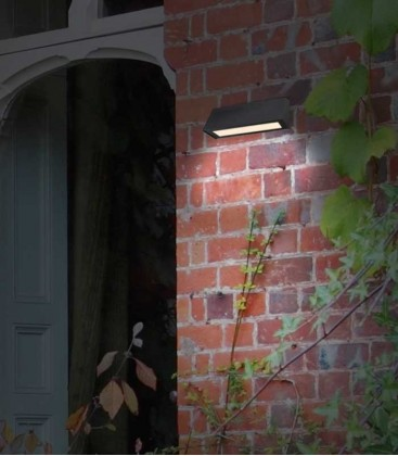 Graphite outdoor wall light STELLA