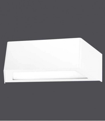 White LED outdoor wall light VIDUX
