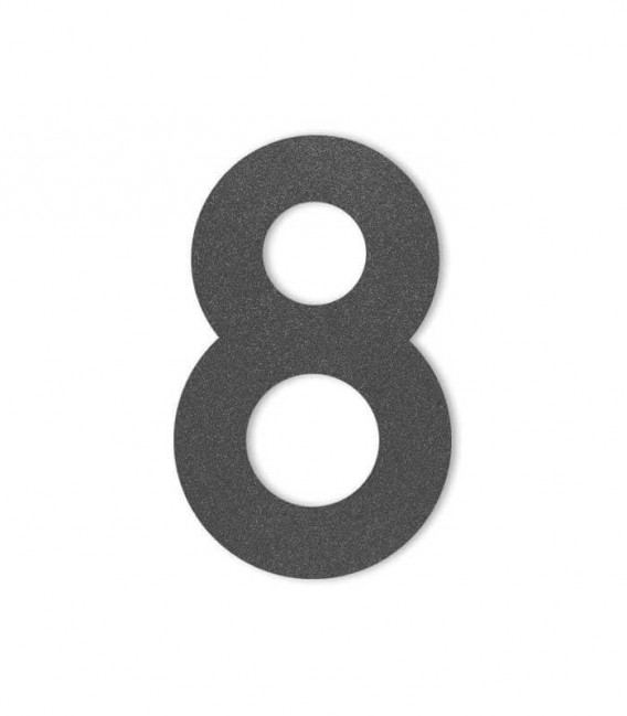 Graphite house number MIDI 8