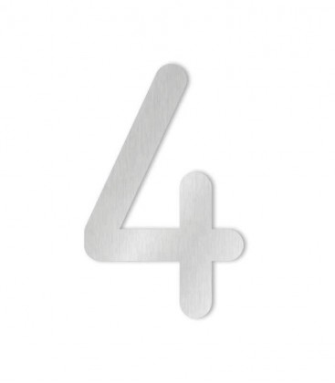 Stainless steel house number MAX 4