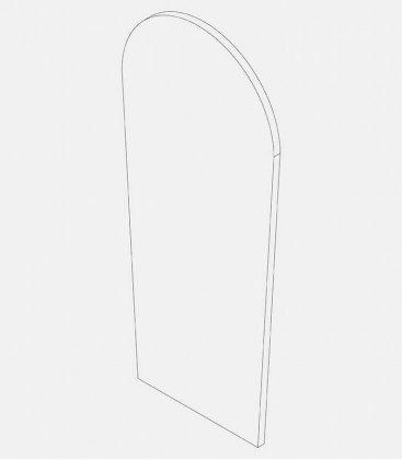 Replacement glass for lights 68235, 68236, 68237, 68293
