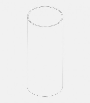 Replacement glass for lights 43740, 68023