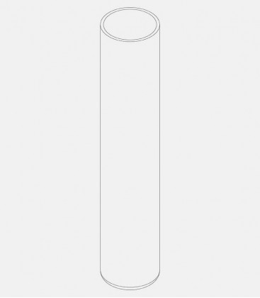 Replacement glass for light 68363