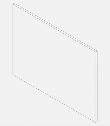 Replacement glass for light 68004