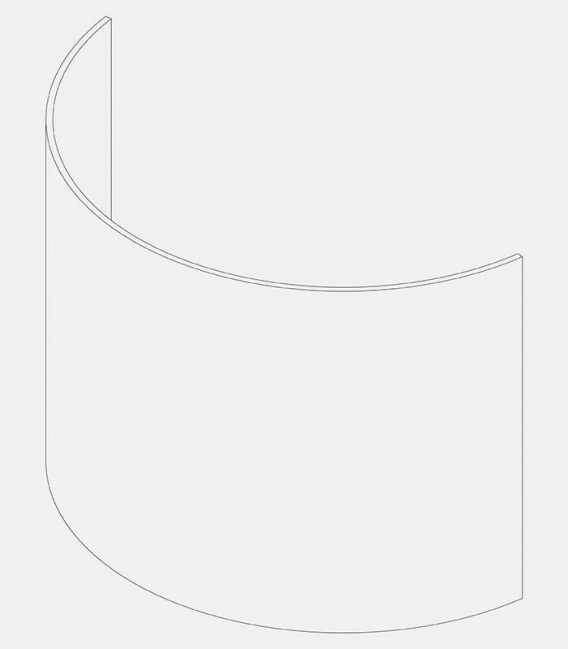 Replacement glass for lights 68005, 91201