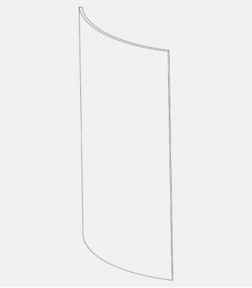 Replacement glass for lights 43774, 43779, 68095, 68105, 68116, 68117