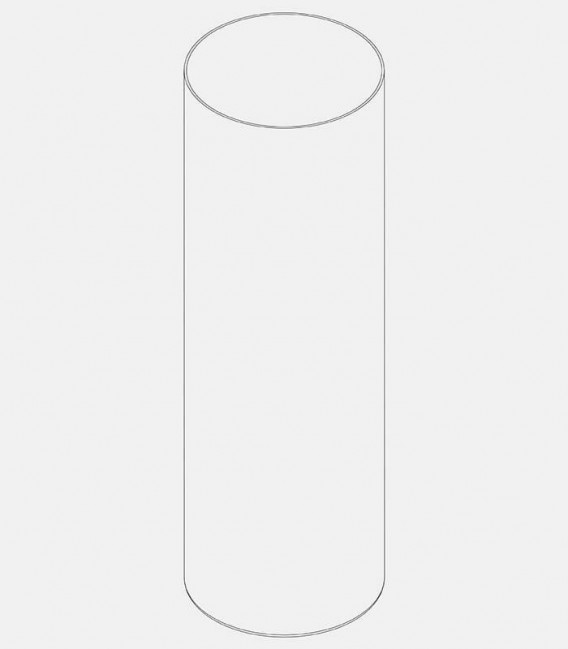 Replacement glass for light 60193