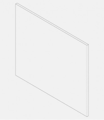 Replacement glass for light 68139