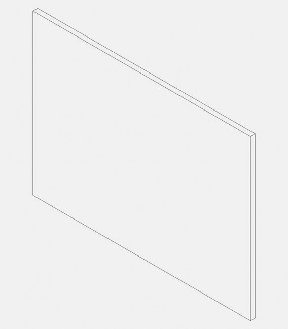 Replacement glass for light 68195