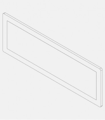 Replacement glass for light 68211