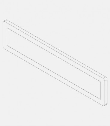 Replacement glass for light 68212
