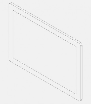 Replacement glass for light 68218