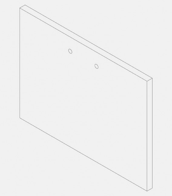 Replacement glass for light 68219