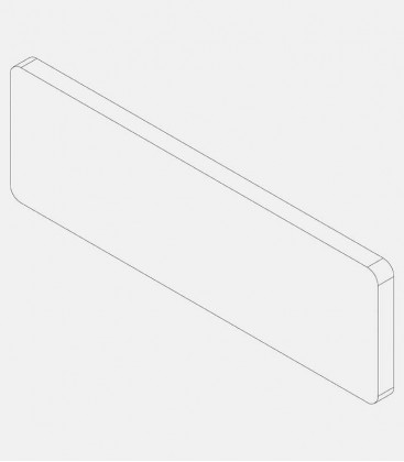 Replacement glass for light 68222