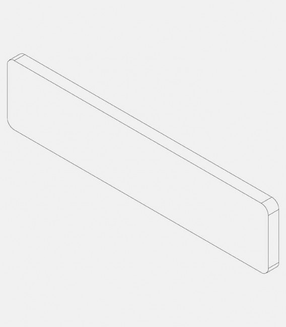 Replacement glass for lights, narrow 68213, 68225