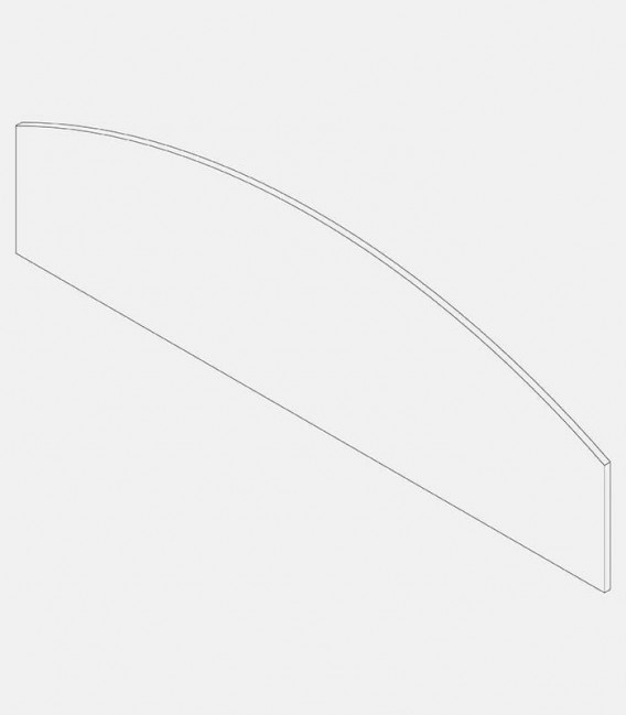 Replacement glass for light 91223 side