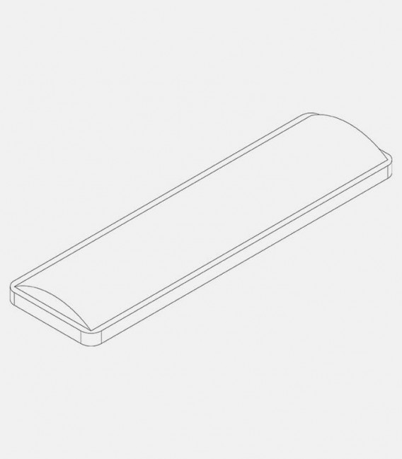 Replacement lens narrow, for lights 68227, 68159, 68186