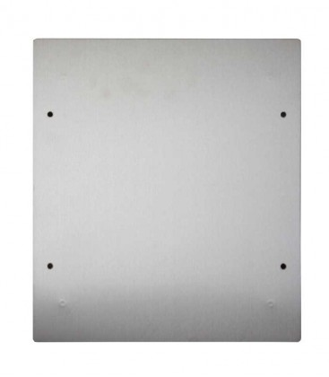 Accessory adapter plate, diamond silver