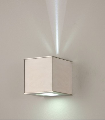 Stainless LED outdoor wall light Up+Down