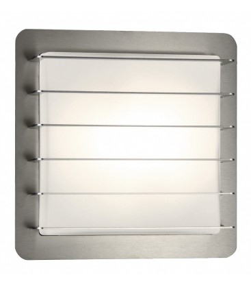 Outdoor wall light PERIA, stainless steel
