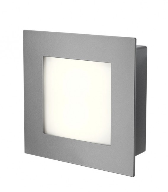Anthracite LED outdoor wall light MINUX