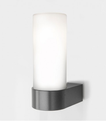 Anthracite LED outdoor wall light SINGO