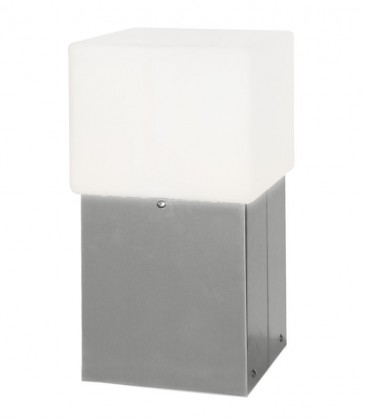 Socle-lamp GLORI, stainless steel