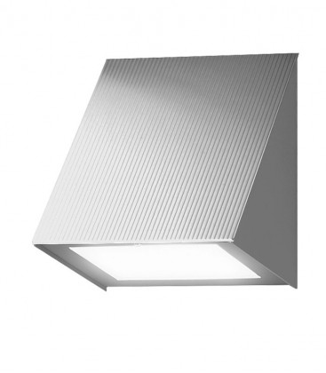 LED outdoor wall light KUMBA, stainless steel