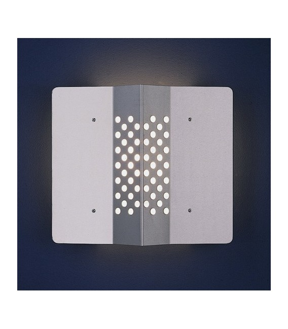 Outdoor wall light SORI, stainless steel