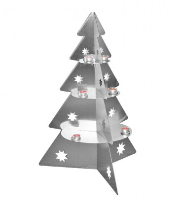 Christmas decoration CHRISTMAS TREE, Stainless Steel