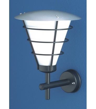 Exterior wall light OLANDA, black