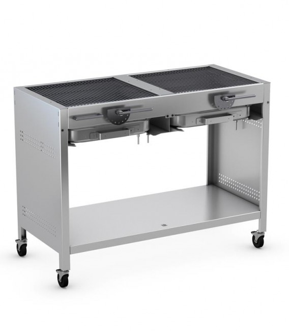 Stainless Charcoal Grill