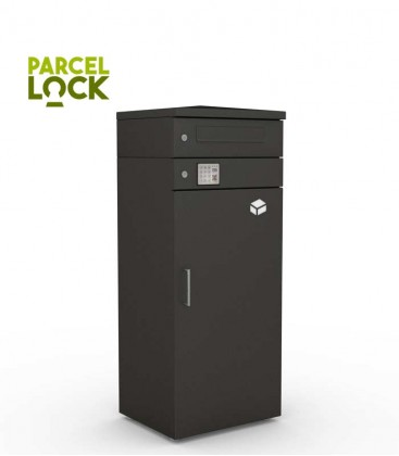 ParcelLock parcel box with letter module, graphite