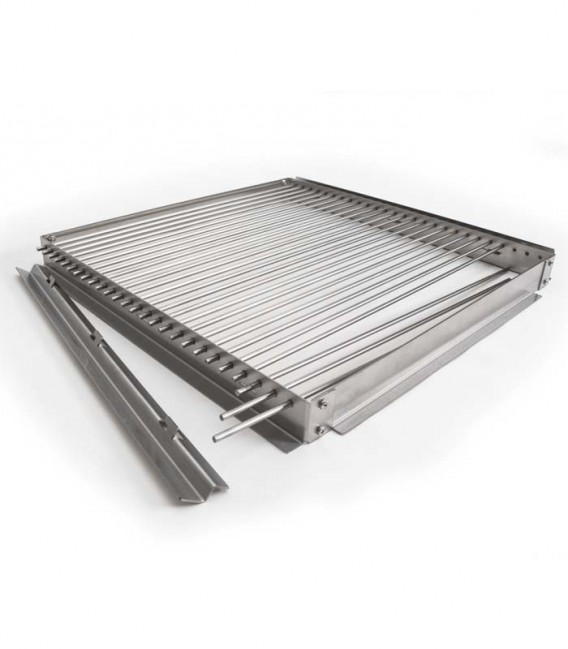 Grill grate with removable bars