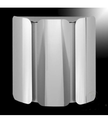Outdoor wall light VELOSA, stainless steel