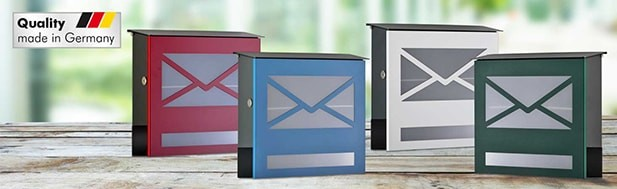 Colored letter boxes
